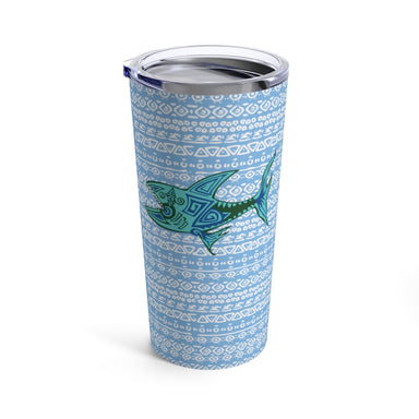 """OG Shark Vibe"" Tumbler 20oz - College Collections Art"
