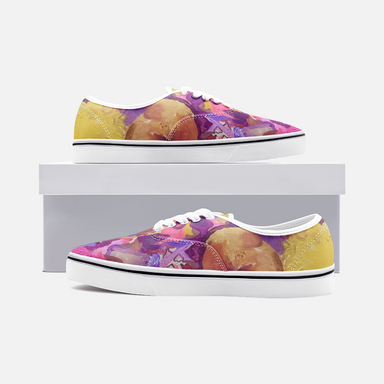 """I am not Ashamed to Love"" Canvas Low Cut Sneakers - College Collections Art"
