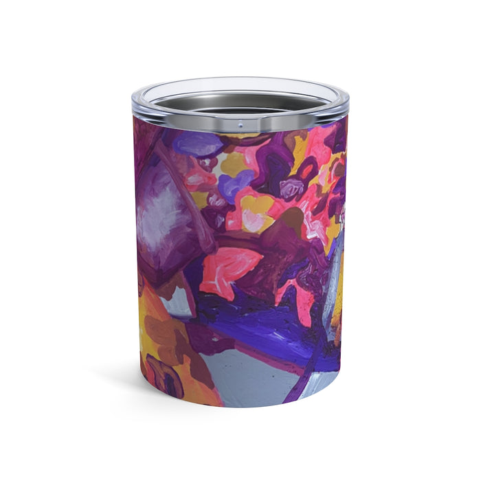 """I Am Not Ashamed to Love"" Tumbler 10oz - College Collections Art"