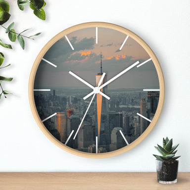 """Freedom"" Wall clock - College Collections Art"