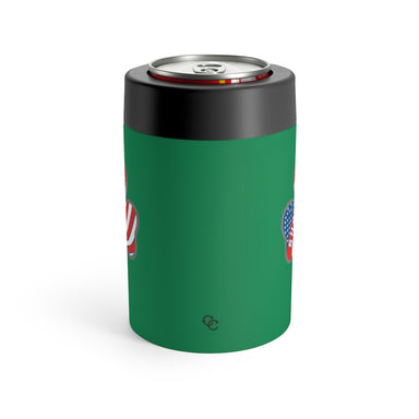 """Shamrockin"" Can Holder (Kelly Green)"