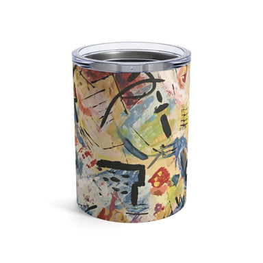 """Warhol Inspired"" Tumbler 10oz - College Collections Art"