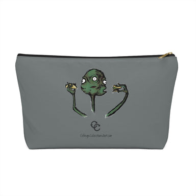 """Hungry"" Accessory Pouch w T-bottom"