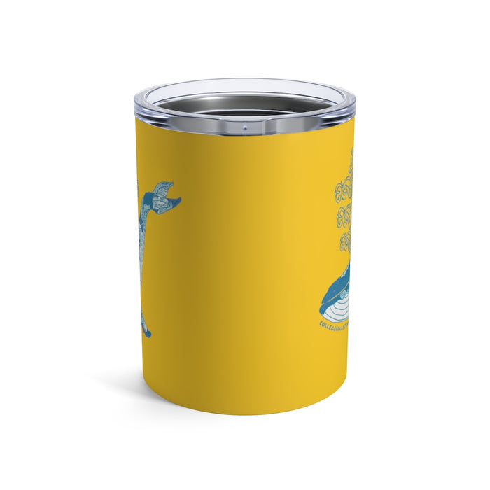 """Humpback"" Tumbler 10oz - College Collections Art"