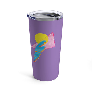 """Shapes"" Tumbler 20oz - College Collections Art"
