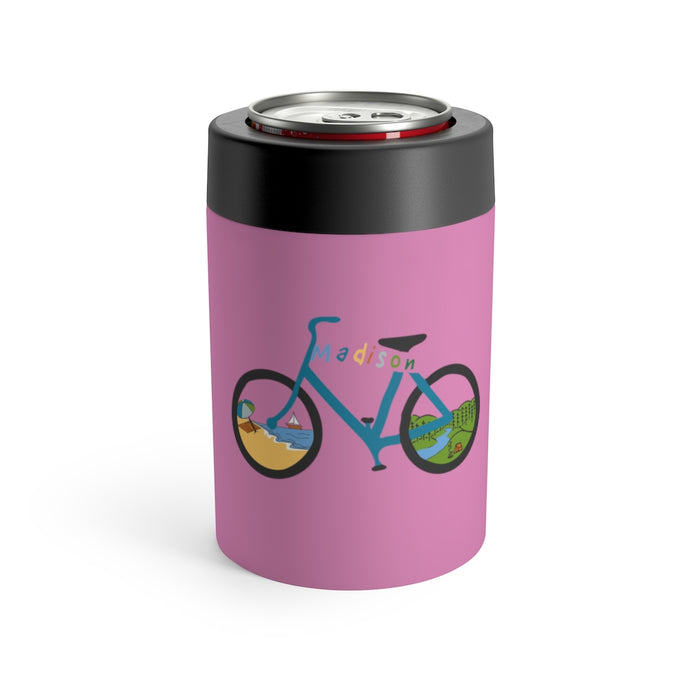 """Madison Bike"" Can Holder - College Collections Art"