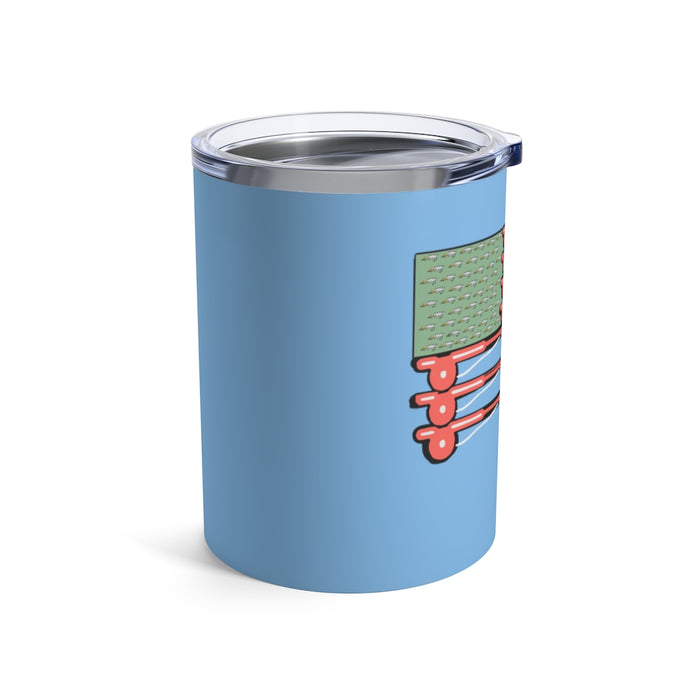 """Fly Flag"" Tumbler 10oz - College Collections Art"