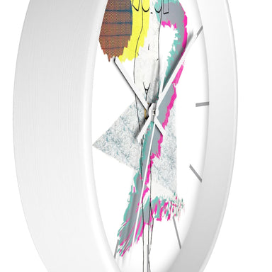 """Curves"" Wall clock - College Collections Art"