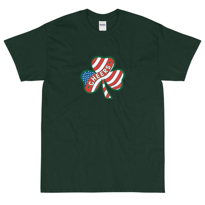 """Cheers"" St. Patrick's Day Short Sleeve Shirt"