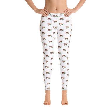 Too Much Nog Holiday Leggings - College Collections Art