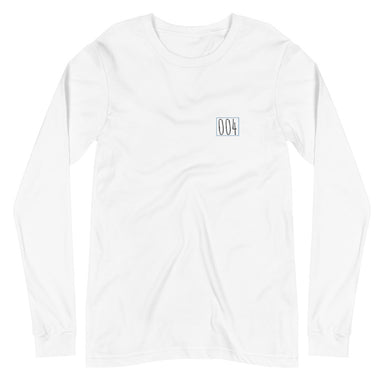 """Untitled 004"" Unisex Long Sleeve Tee - College Collections Art"