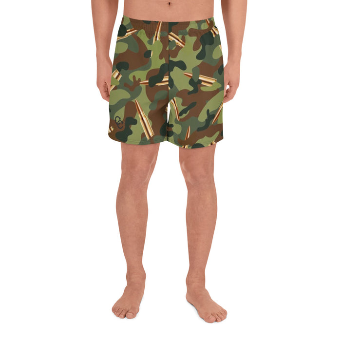 """CAMMO"" Men's Athletic Long Shorts - College Collections Art"