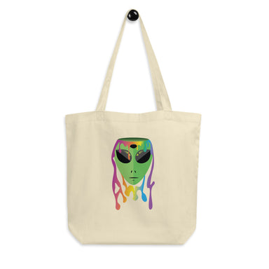 """alien"" Eco Tote Bag - College Collections Art"