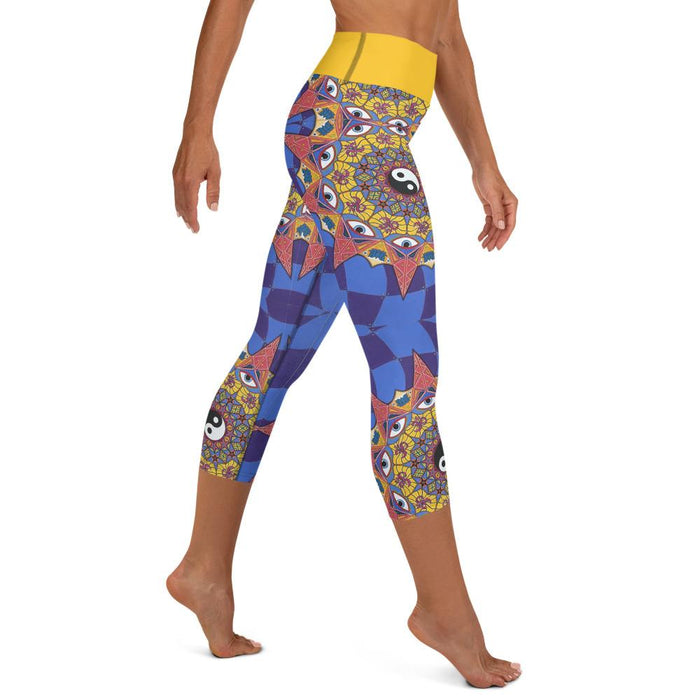 """Polarity"" Leggings - College Collections Art"