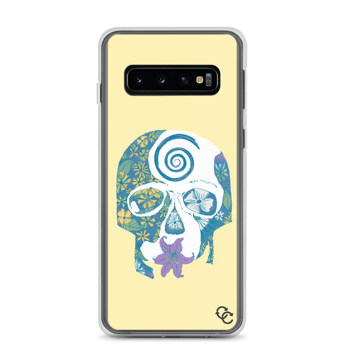 """Tropical Skull"" Phone Case - College Collections Art"
