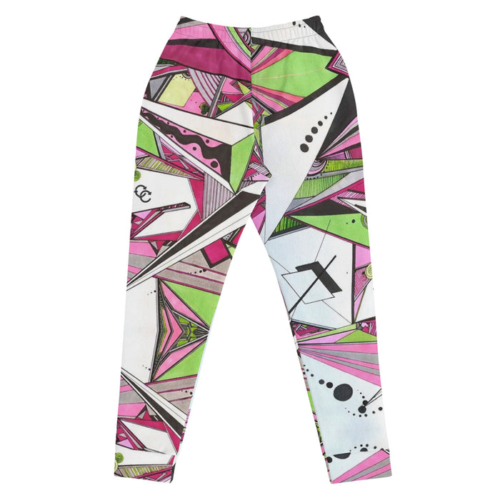 """Geo Therapy Five"" Joggers - College Collections Art"