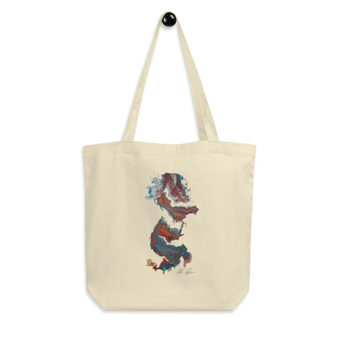 """Untitled 004"" Eco Tote Bag - College Collections Art"
