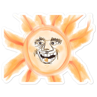 """War Sun"" Sticker - College Collections Art"