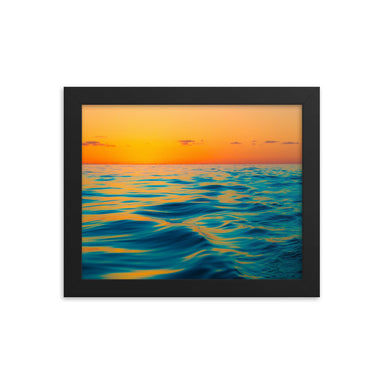 """Silky Sunrise"" Framed Print - College Collections Art"