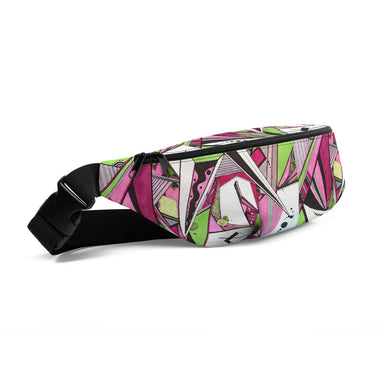 """Geo Therapy Five"" Fanny Pack - College Collections Art"