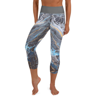 """Lagoon"" Leggings - College Collections Art"