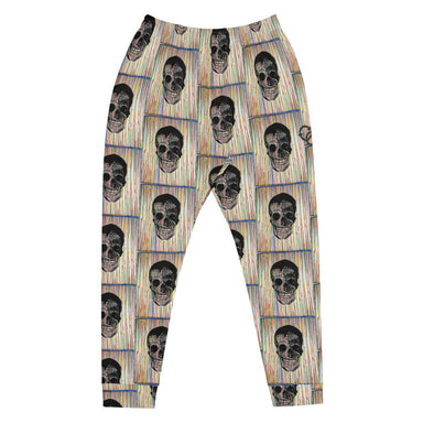 """Drip Skull"" Joggers - College Collections Art"