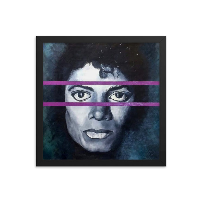 """Michael"" Framed poster - College Collections Art"