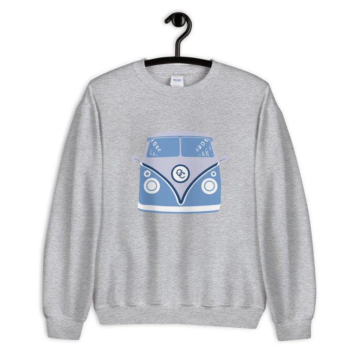 """70's Van"" Unisex Sweatshirt - College Collections Art"