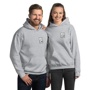 """Rough Waters"" Unisex Hoodie - College Collections Art"