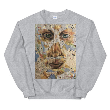 """Future"" Crewneck - College Collections Art"