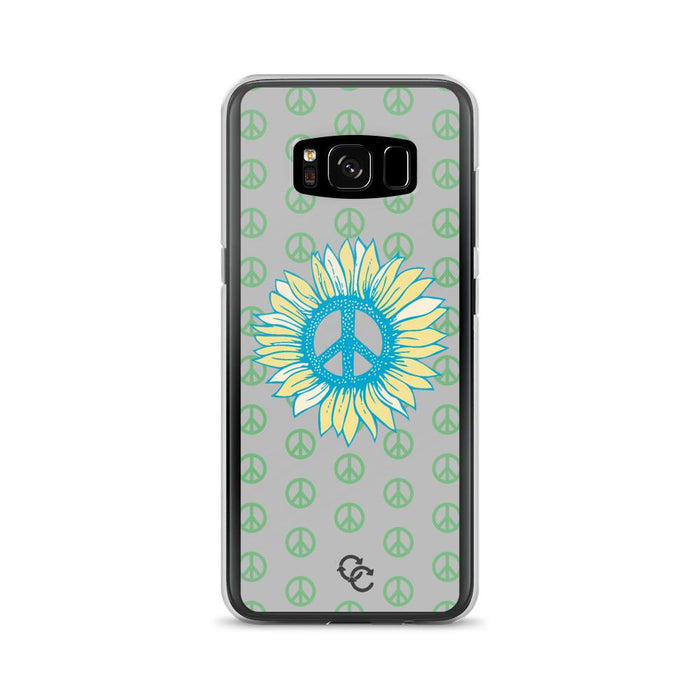 """Peace-flower"" Phone Case - College Collections Art"