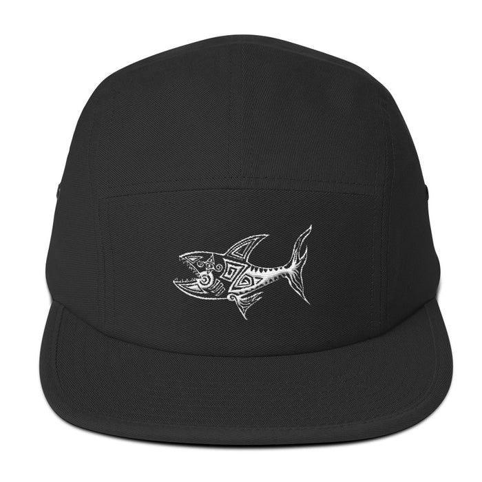 """The Shark"" 5 Panel Hat - College Collections Art"