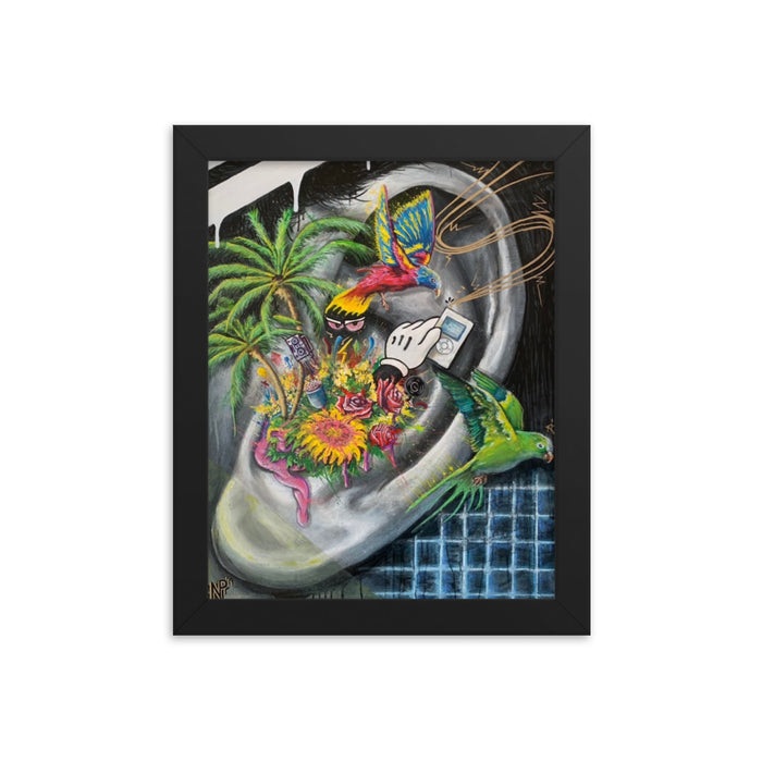 """Picks- 003"" Framed poster - College Collections Art"