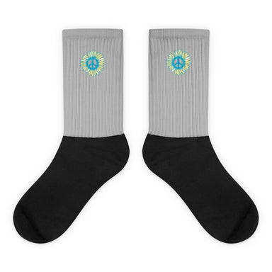 """Peace-flower"" Socks - College Collections Art"