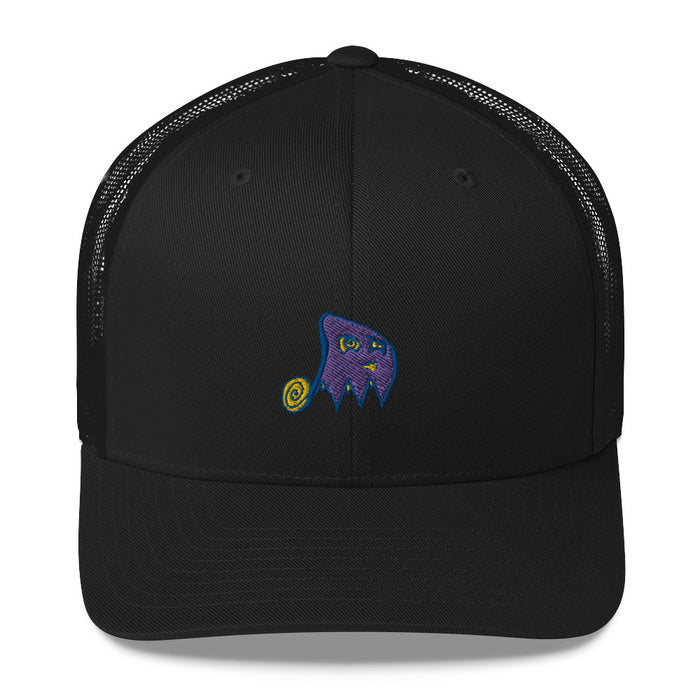 """Ghost"" Trucker Cap - College Collections Art"