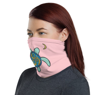 """Turtle Moon"" Neck Gaiter - College Collections Art"
