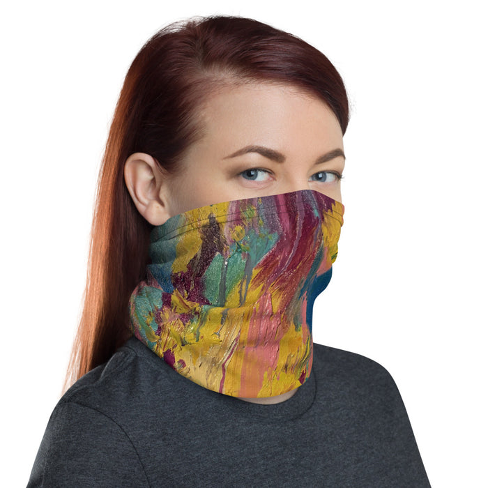 """It Wasnt Always Given"" Neck Gaiter - College Collections Art"