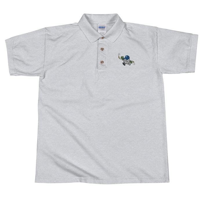 """Hoser Nation"" Embroidered Polo Shirt - College Collections Art"
