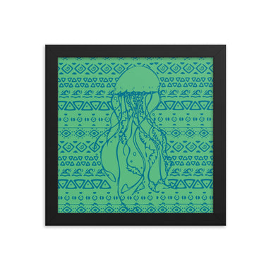 """Jellyfish"" Framed poster - College Collections Art"