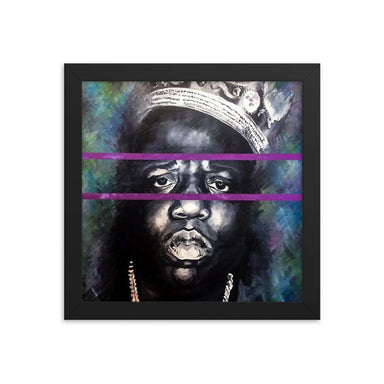"""Notorious"" Framed poster - College Collections Art"
