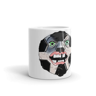 """Soccer Man"" Mug - College Collections Art"