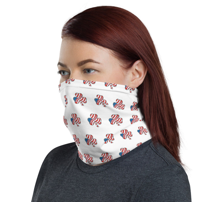 """Shamrockin"" Neck Gaiter - College Collections Art"