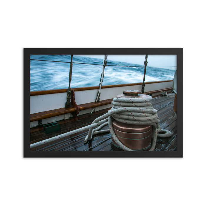 """Starboard Primary"" Framed Print - College Collections Art"