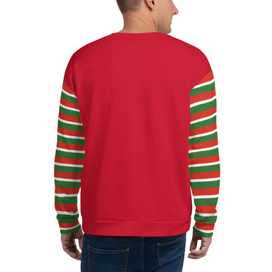 Too Much Nog Ugly Holiday Sweater - College Collections Art