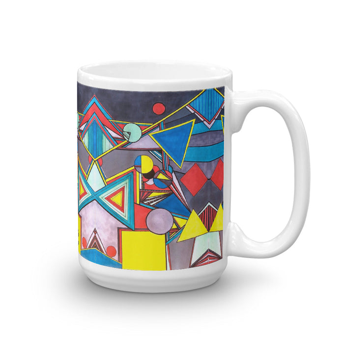 """Geo Therapy Eight"" Mug - College Collections Art"