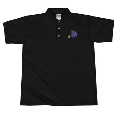 """Gost"" Embroidered Polo Shirt - College Collections Art"