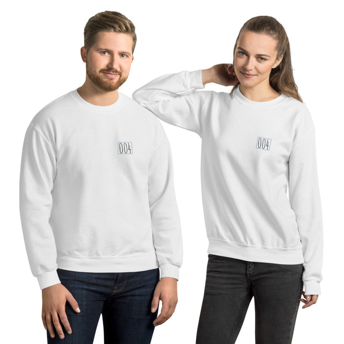 """Untitled 004"" Unisex Sweatshirt - College Collections Art"
