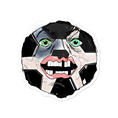 """Soccer Man"" Sticker - College Collections Art"
