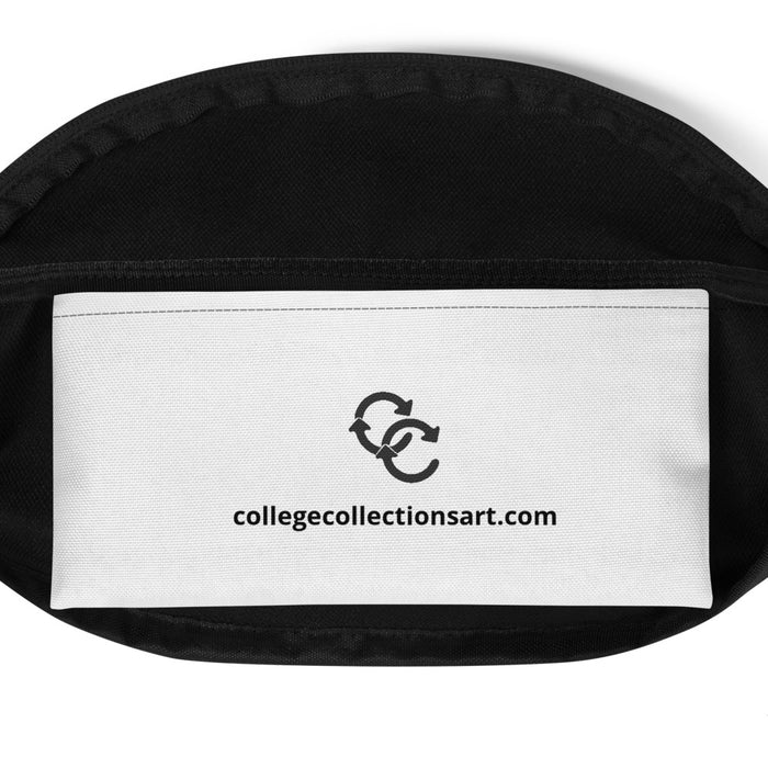 """Faces"" Fanny Pack - College Collections Art"