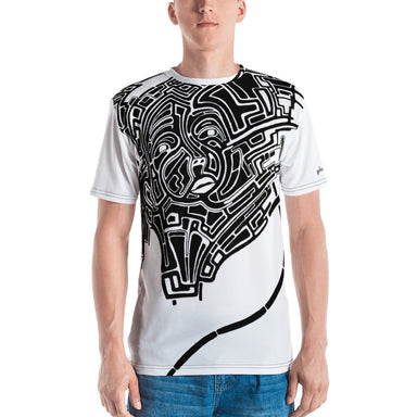 Face in the Crowd All over Print Tee - College Collections Art